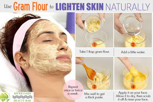 lighten-skin-color-with-gram-flour-face-mask