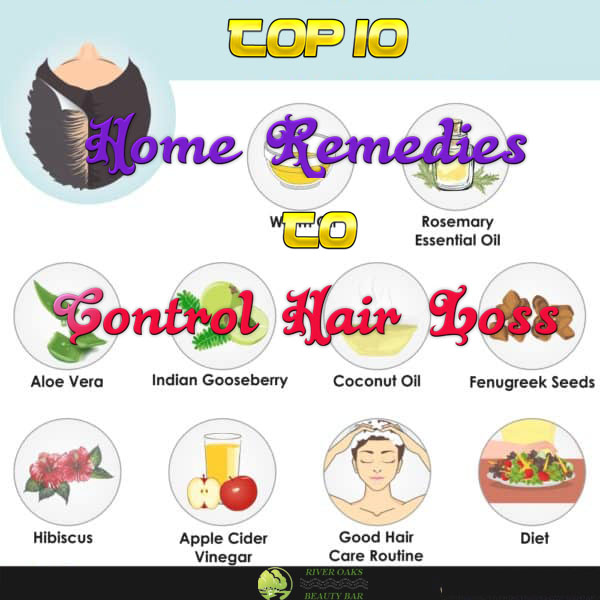 Top 10 Home Remedies to Control Hair Loss