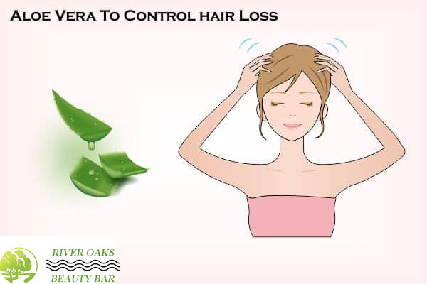 Aloe Vera to cantrol hair loss