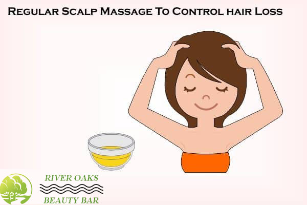 Regular Scalp Massage