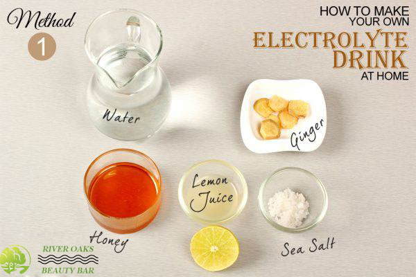 electrolyte-drink-method