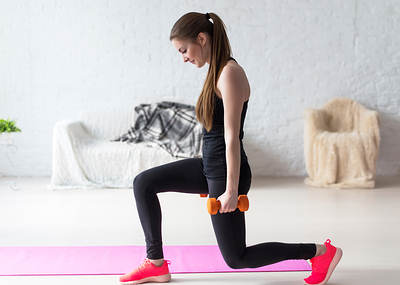Standing Lunges