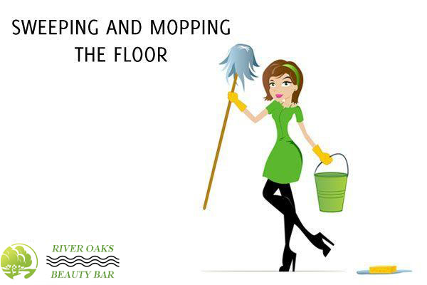 sweeping-and-mopping-the-floor